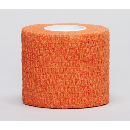 Flexible Sports Bandage ORANGE 5 cm x 4,5 m-32