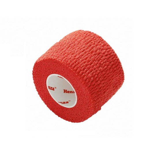 Henza® Flexible Sports Bandage RØD 5,0 cm x 4,5 m-33