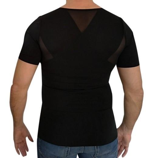 Sort Perfect Posture T-Shirt - Herremodel