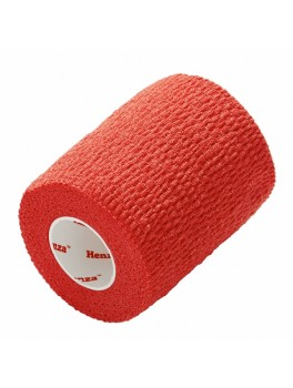 Henza® Flexible Sports Bandage - RØD - 7,5 cm x 4,5 m